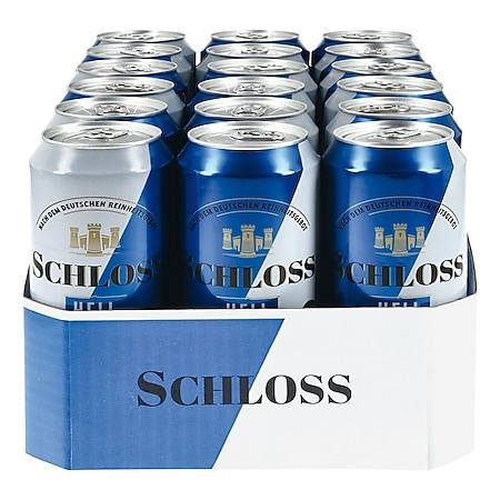 Schloss Hell 4,7 % vol 0,5 Liter Dose, 18er Pack - Bild 1