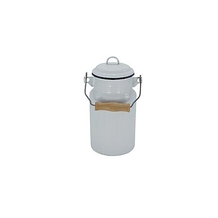 Milchkanne Serie HUSUM emailiert, 2 Liter - Bild 1