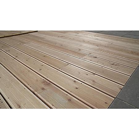 Home Deluxe  Terrassendielen sibirische Lärche 2m² - Bild 1