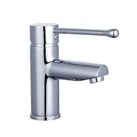SCHÜTTE Waschtischarmatur VITAL, Wasserhahn Bad Chrom - Bild 1