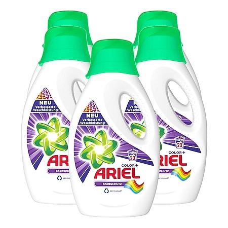 Ariel Colorwaschmittel flüssig  20 Waschladungen, 5er Pack - Bild 1