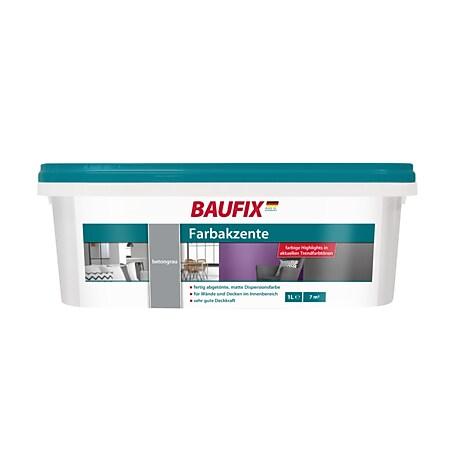 BAUFIX Farbakzente betongrau, 1 Liter - Bild 1