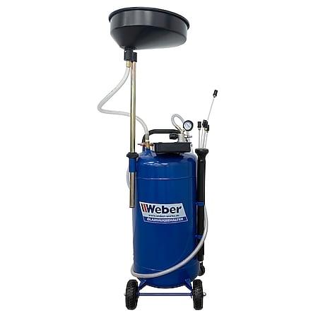 Weber Ölauffangbehälter 85l mit Absaugfunktion - Bild 1