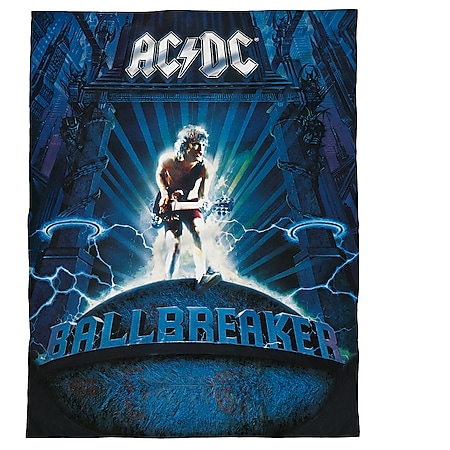 Lizenz Fleecedecke AC/DC - Bild 1