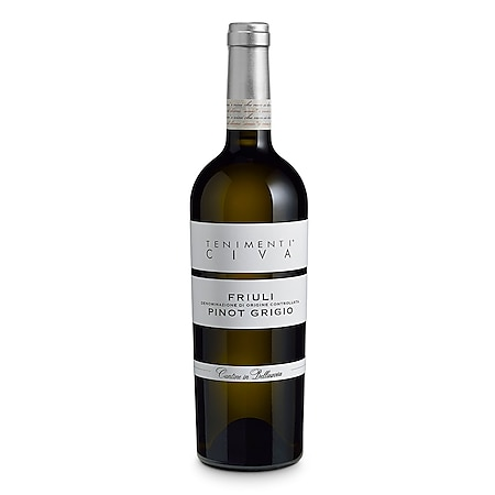 Civa Pinot Grigio Friuli DOC 12,5 % vol 0,75 Liter - Bild 1