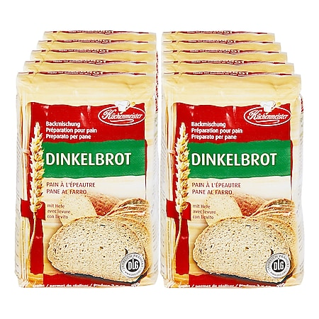 Küchenmeister Dinkelvollkornbrot 1 kg, 10er Pack - Bild 1