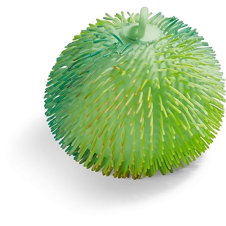 LED Zottelball multicolor, 18 cm - grün - Bild 1