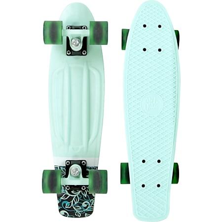 Slide Board   versch. Ausführungen   22 Zoll, Green Flower - Bild 1