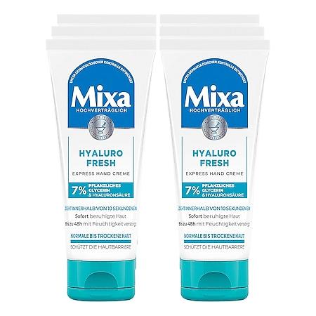 Mixa Handcreme Hyaluro Fresh 100 ml, 6er Pack - Bild 1