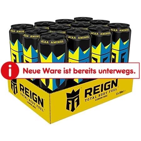 Reign Energy Drink Lemon HDZ 0,5 Liter, 12er Pack - Bild 1