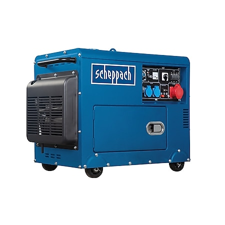 Scheppach Diesel Stromerzeuger SG5200D, 5000W - Bild 1