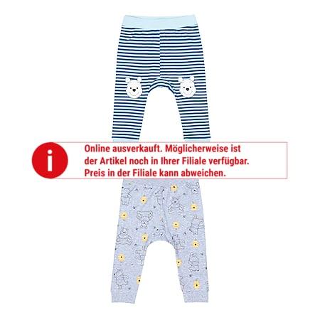 Baby Hosen 2er Pack - versch. Lizenzen & Größen - Winnie the Pooh für Jungen - Gr. 74/80 - Bild 1
