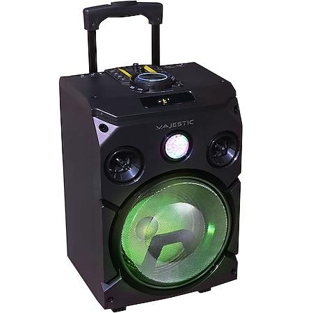 VCM Majestic Bluetooth Lautsprecher mit Wagen DJB 274 BT USB AX - Bild 1