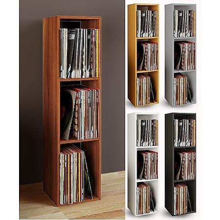 """VCM Schallplatten Regal Archiv LP Möbel Archivierung """"Platto 3fach"""" - Bild 1"""