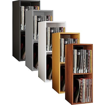 """VCM Schallplatten Regal Archiv LP Möbel Archivierung """"Platto 2fach"""" - Bild 1"""