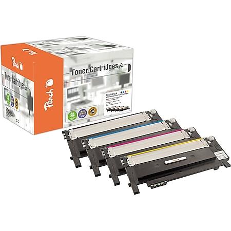 Peach Spar Pack Tonermodule kompatibel zu Samsung CLT-P406C/ELS, SU375A (wiederaufbereitet) - Bild 1