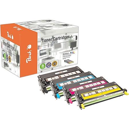 Peach Spar Pack Tonermodule kompatibel zu Dell XG721-XG724, 593-10170/71/72/73 (wiederaufbereitet) - Bild 1