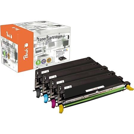 Peach Spar Pack Tonermodule kompatibel zu Epson C13S051158-61 (wiederaufbereitet) - Bild 1
