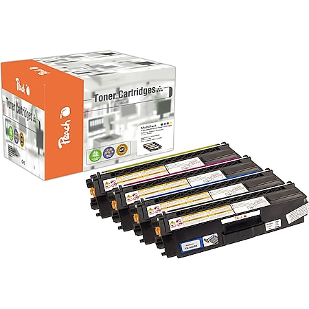 Peach Spar Pack Tonermodule kompatibel zu Brother TN-900 (wiederaufbereitet) - Bild 1