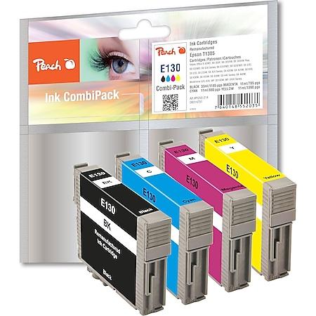 Peach Spar Pack Tintenpatronen kompatibel zu Epson T1305, C13T13054010 (wiederaufbereitet) - Bild 1
