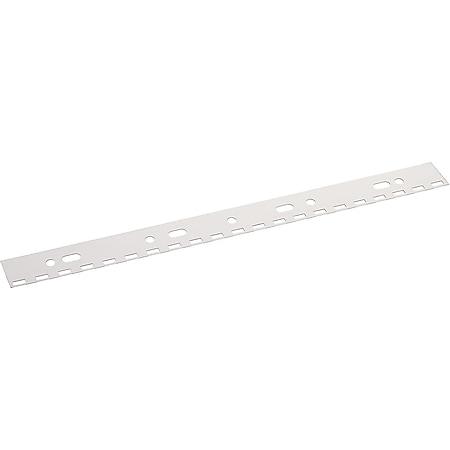 Peach PB500-01 Abheftstreifen für Drahtbinderücken A4, 31 Stanzlöcher, 100 Stück, transparent - Bild 1