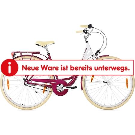KS Cycling Damenfahrrad Cityrad Belluno 3 Gänge 28 Zoll - Bild 1