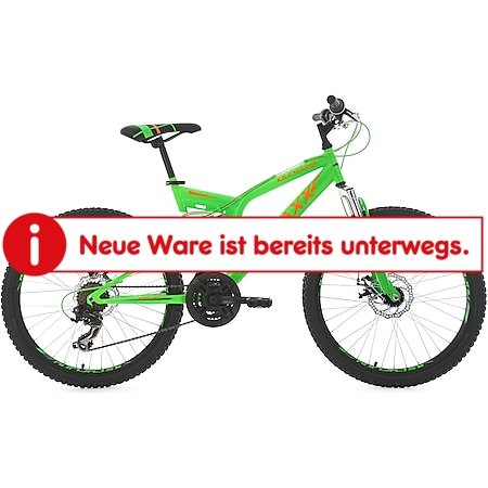 KS Cycling Kinder-Mountainbike 24 Zoll  Fully Xtraxx - Bild 1