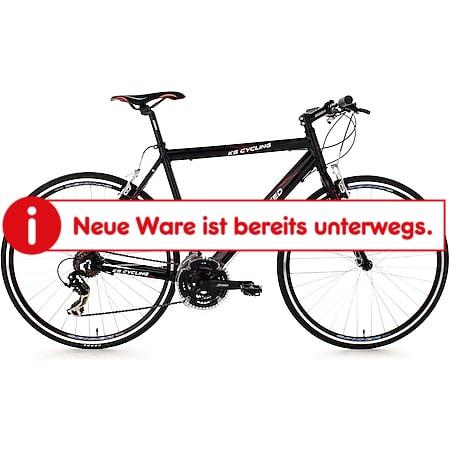 KS Cycling Fitnessrad 21 Gänge Fitness-Bike Lightspeed (Black) 28 Zoll - Bild 1