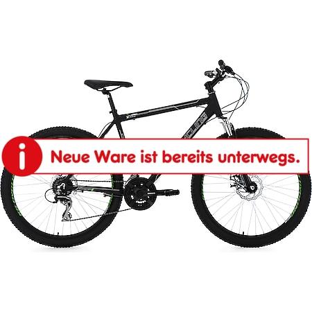 KS Cycling Hardtail Mountainbike 24 Gänge Xceed schwarz 26 Zoll - Bild 1