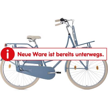 KS Cycling 28 Zoll Hollandrad 3 Gänge (Nexus) Tussaud mit Frontgepäckträger - Bild 1