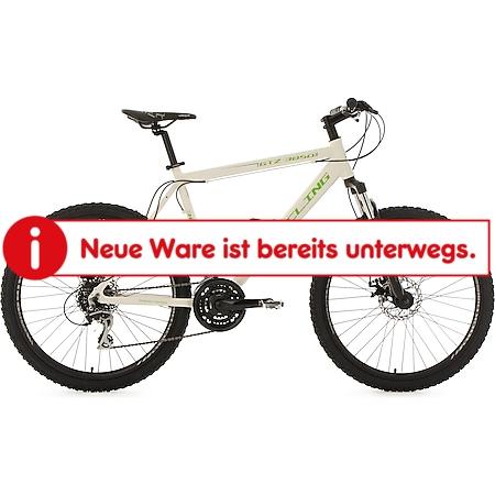 KS Cycling Mountainbike Hardtail 24 Gänge GTZ 26 Zoll weiß-grün - Bild 1