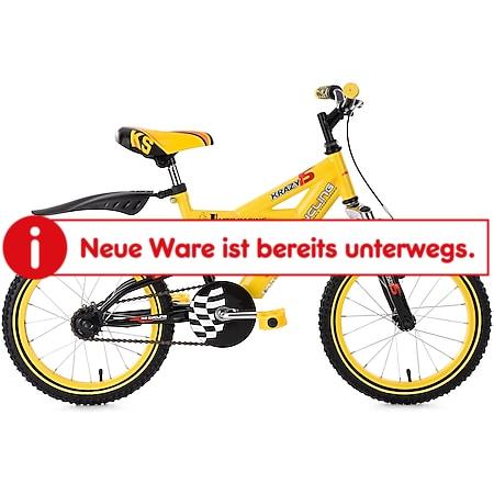 KS Cycling Kinderfahrrad Fully Kinder-Mountainbike 16 Zoll Krazy - Bild 1