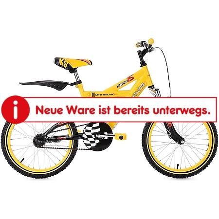 KS Cycling Kinderfahrrad Fully Kinder-Mountainbike 18 Zoll Krazy - Bild 1