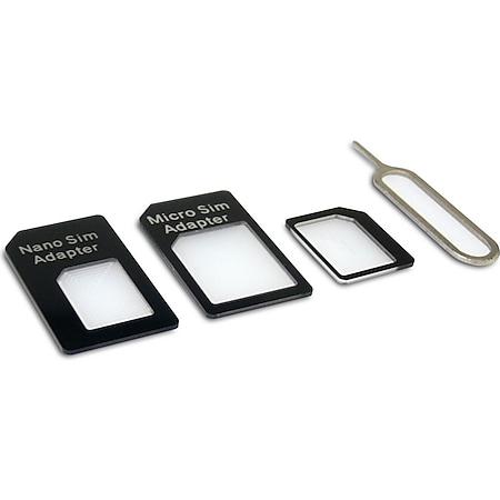 SANDBERG SIM-Adapter-Bausatz 4in1 - Bild 1