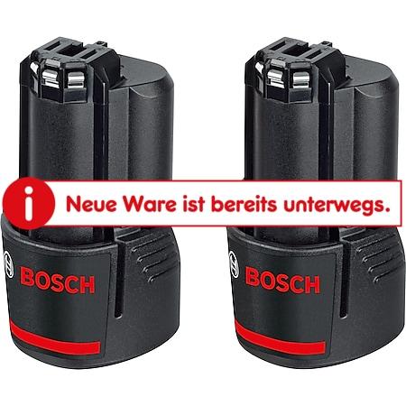 Bosch Akku Akku Pack GBA 12V 3,0 Ah 2 Stück - Bild 1