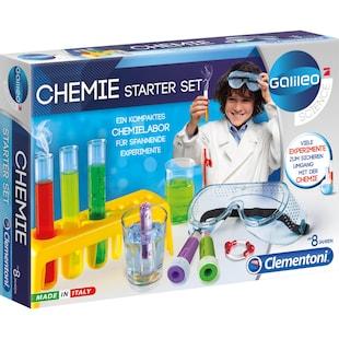 Clementoni Experimentierkasten Chemie Starter-Set