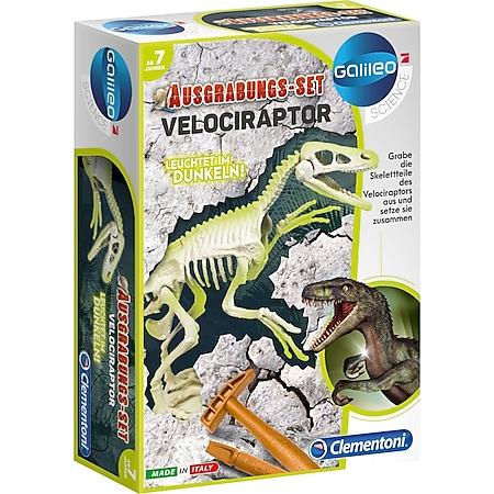 Clementoni Experimentierkasten Ausgrabungs-Set Velociraptor - Bild 1