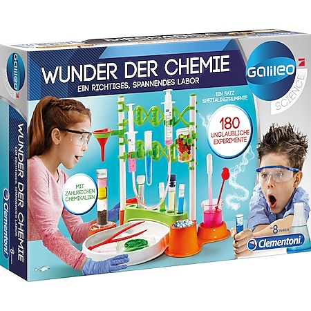 Clementoni Experimentierkasten Wunder der Chemie - Bild 1