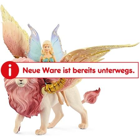 Schleich Spielfigur Elfe auf geflügeltem Löwen - Bild 1