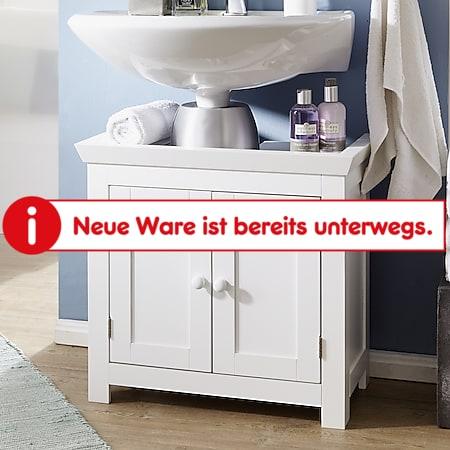 Wohnling Waschbeckenunterschrank WL1.350 Badunterschrank Schrank Badezimmer 57 cm Badschrank Waschbecken - Bild 1