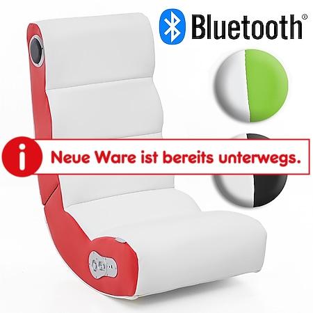 Wohnling Soundchair WOBBLE mit Bluetooth Musiksessel mit Lautsprechern Multimediasessel Music Chair - Bild 1