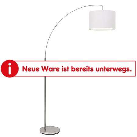 Clarie Bogenstandleuchte 1,8m eisen/weiß - Bild 1
