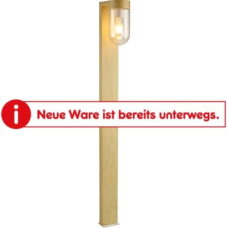 Cabar Außenstandleuchte 110cm natur/weiß - Bild 1
