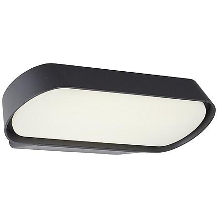 Samira LED Außenwandleuchte 90° schwarz matt - Bild 1