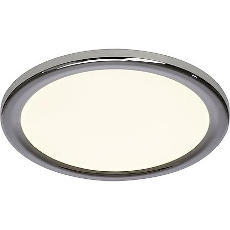 Palin LED Wand- und Deckenleuchte 30cm chrom/weiß - Bild 1