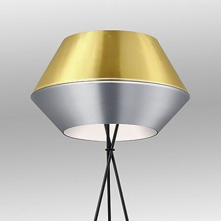 s.LUCE SkaDa individuelle Stehleuchte Ø 50cm... Aluminium, Gold - Bild 1