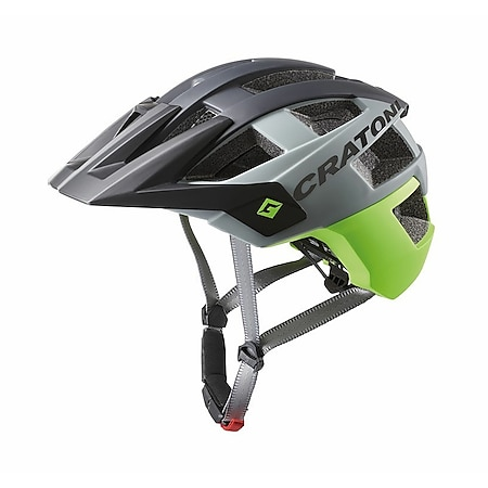 MTB Fahrradhelm AllSet schwarz/lime matt - Bild 1