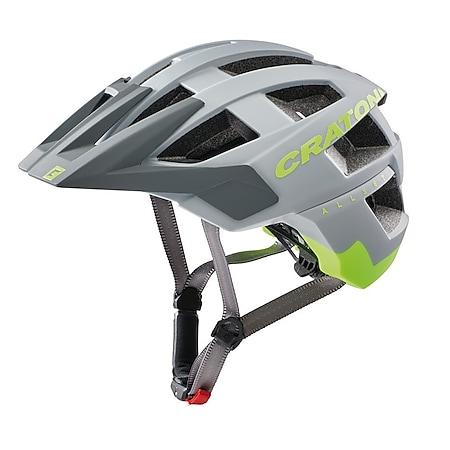MTB Fahrradhelm AllSet grau/neongelb matt - Bild 1