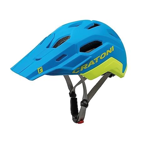MTB Fahrradhelm C-Maniac 2.0 Trial blau/lime matt - Bild 1