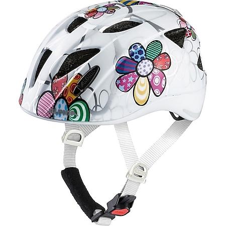 Kinder-Helm  Ximo Flash white flower - Bild 1